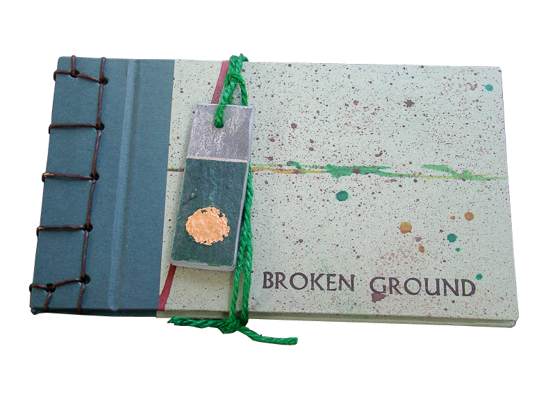 Broken Ground artists book g