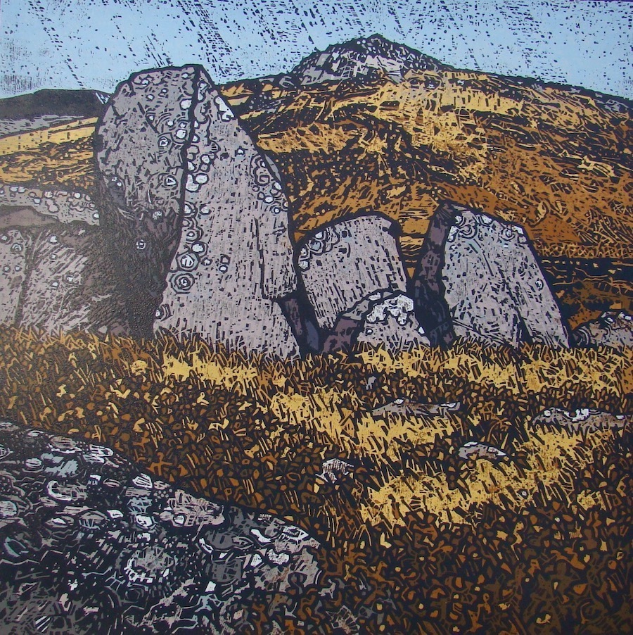 Carrock Fell  60x60cm Sold out