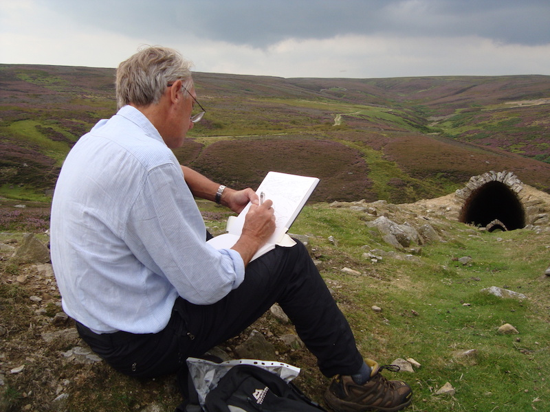 drawing swaledale